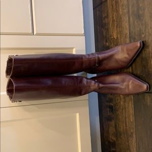 Joan & David brown boots.